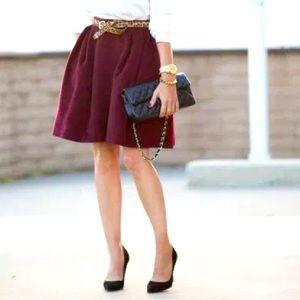 "Maje | ""Boule"" Circle Skirt"